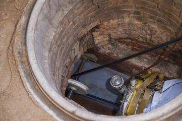 Rehabilitation of a sewer near