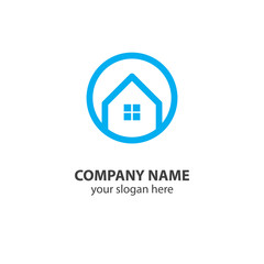 home logo design element, logo design template