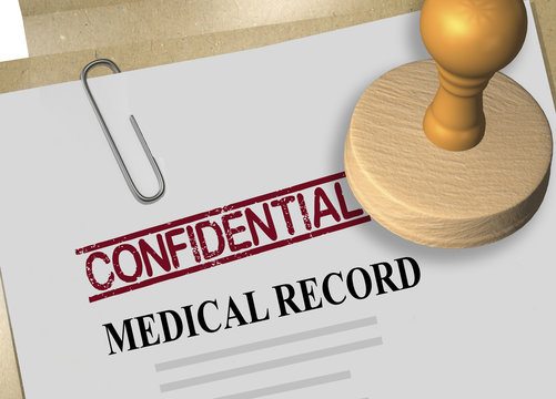 confidentiality of medical record concept