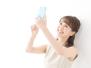 スマートフォン・女性