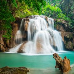 Huay Mae Kamin waterfall National Park, Thailand