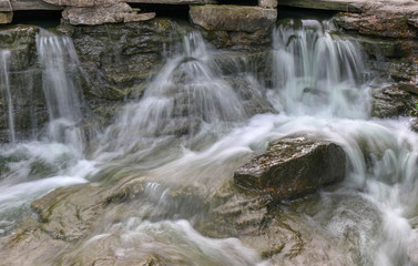 Waterfalls with Water