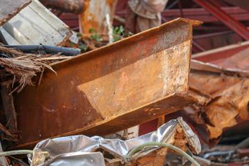 Rusted Building Metal