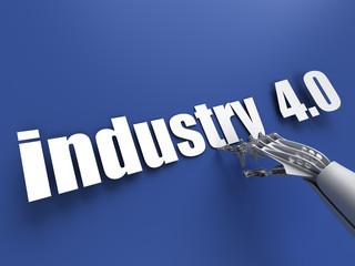ndustry 4.0 (industrial revolution v4)