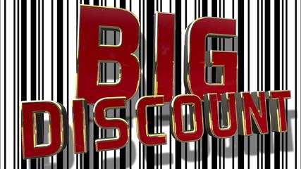 Big Sale 3D Text