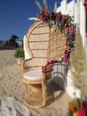 fauteuil emmanuelle fleuri