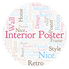 Interior Poster word cloud.