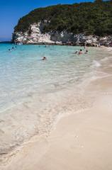 Antipaxos beach