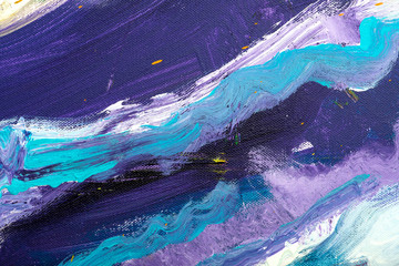 Art background. Self made abstraction