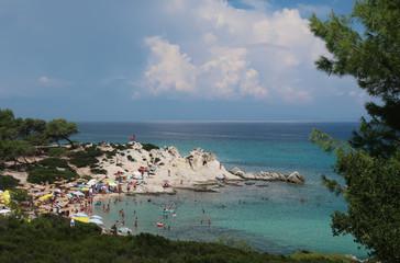 Orange beach - Sithonia, Greece