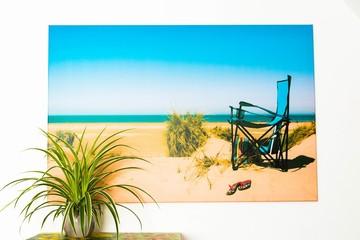 XXL-Fotoleinwand, Urlaub am Meer