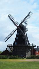 swedish windmill outside