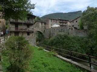 Beget. Villa historica de Girona, Catalunya - España