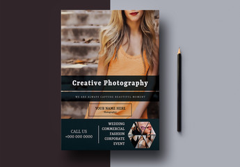 Photography Flyer Layout