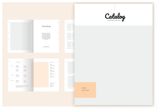 Fashion Lookbook Layout
