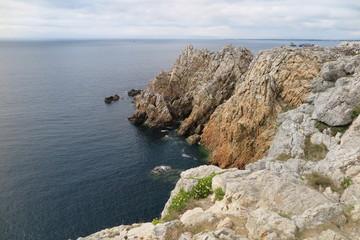 Pointe de Penhir bei Camaret-sur-Mer, Bretagne