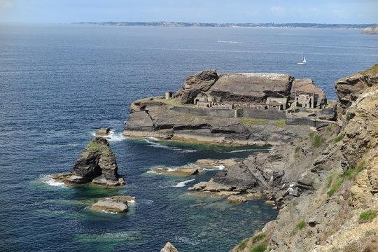 Fort des Capucins an der Pointe des Espagnols, Bretagne
