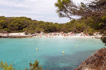 Turqueta beach, Menorca island, Balearic islands, Spain