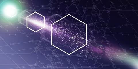Digital Graphic - Online Cyberspace