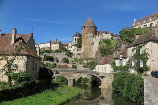 Semur-en-Auxois, Burgund