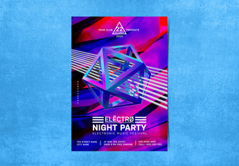 Party Flyer Layout