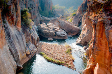 Bourkes Luck Potholes in South Africa Wall mural