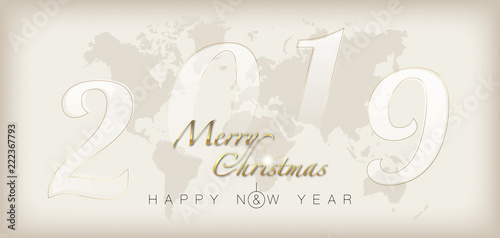 Merry Christmas And Happy New Year Stockfotos Und Lizenzfreie