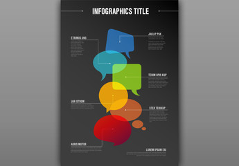 Communication Concept Infographic Layout