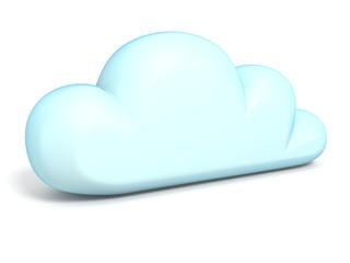 Cloud icon 3D
