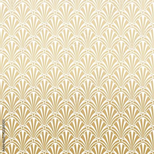 Gold Gatsby Art Deco Pattern Background Design