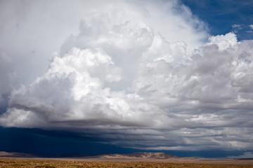 Thunderstorm cumulonimbus cloud