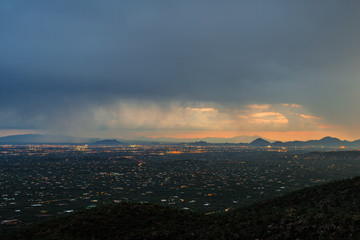 """View from """"A"""" mountain in Tucson Arizona"""