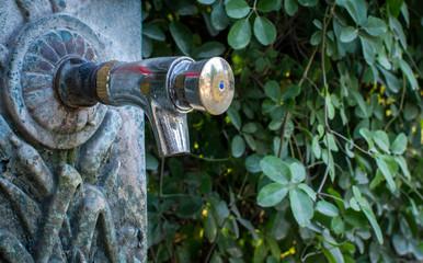 European drinking fountain