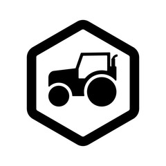 Farm Logo. Farming Icon. Agriculture Symbol. Vector Eps 08.