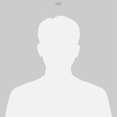 Picture profile icon. Human or people sign and symbol for template design. Vector.