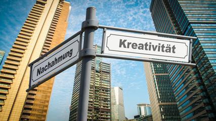 Schild 367 - Kreativität