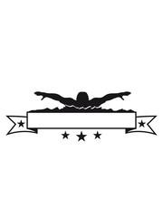 banner text schreiben wettkampf schwimmen schwimmer verein team wasser kraulen schnell wettrennen schwimmbad sportler sport spaß tauchen hallenbad wellen clipart