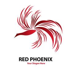 Phoenix Logo Vector Design Editable File Eps 10