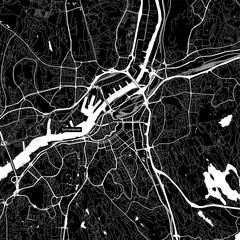 Area map of Gothenburg, Sweden