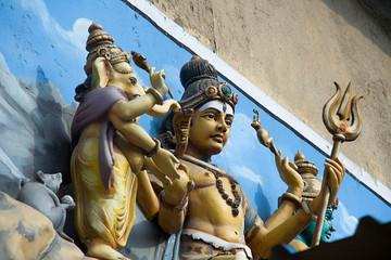 Statue of Shiva and Ganesha, Madurai