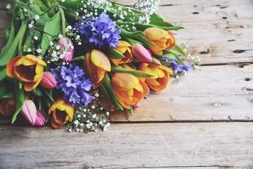 Blumenstrauß - Frühling - Frühlingsstrauß mit Tulpen