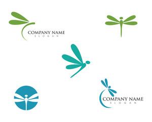 Dragonfly illustration icon