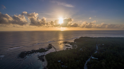 ocean101 siargao boat cloud 9 sunset walkway