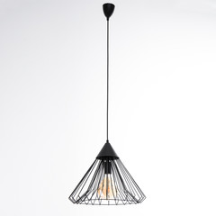 Luminaire with a non-ordinary lamp black