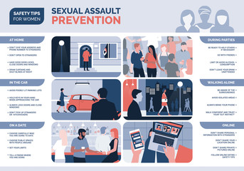 Sexual assault prevention for women and safety tips