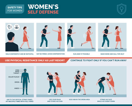 Women's self defense advice and protection