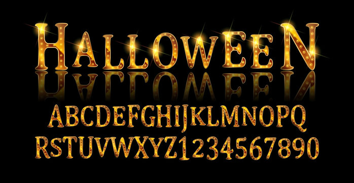 Vintage Halloween Original Typeface.