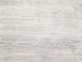 White wood background and texture