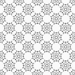 Oriental eight pointed stars seamless pattern.