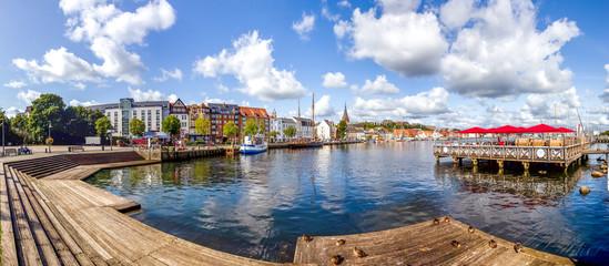 Flensburg Hafen Panorama